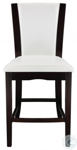 Daisy White Counter Height Chair Set of 2