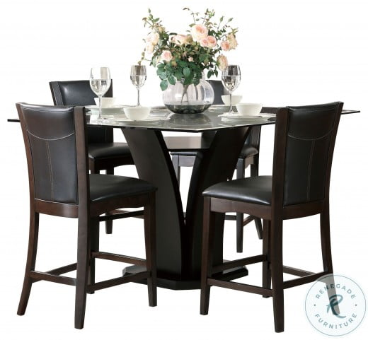 Daisy Brown Counter Height Dining Table