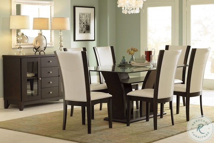 Daisy Espresso Rectangular Dining Table