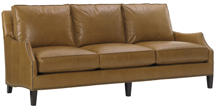 Kensington Place Ashton Brown Leather Sofa