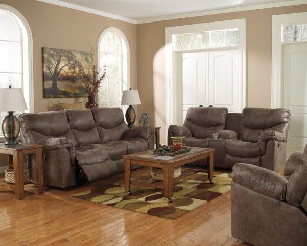 Alzena Gunsmoke Reclining Living Room Set