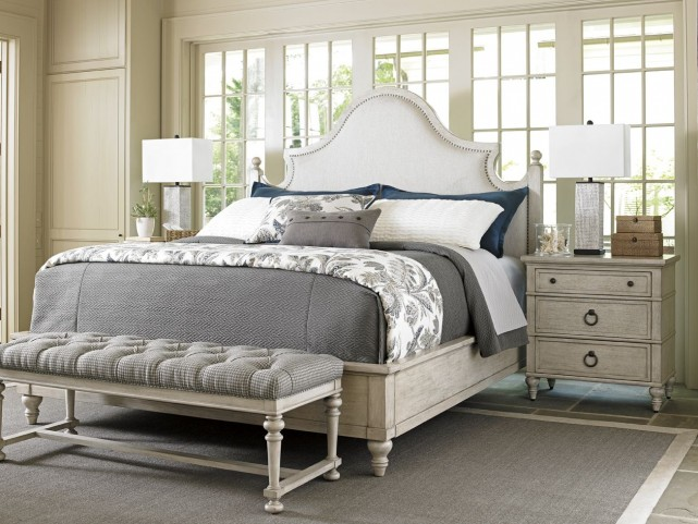 Oyster Bay Arbor Hills Upholstered Bedroom Set