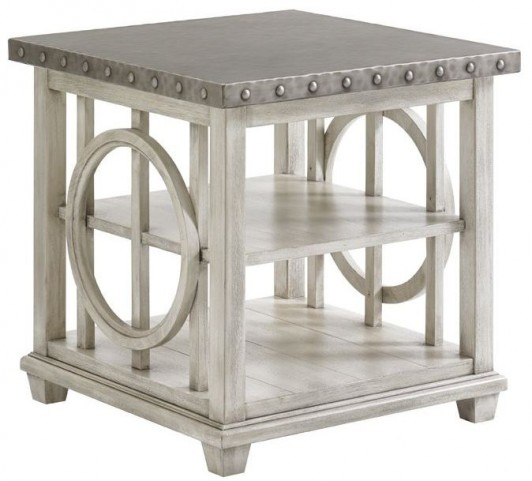 Oyster Bay Lewiston Square Lamp Table