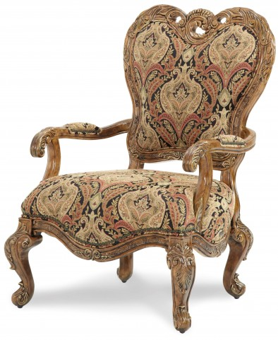 Palais Royale Fabric Wood Chair