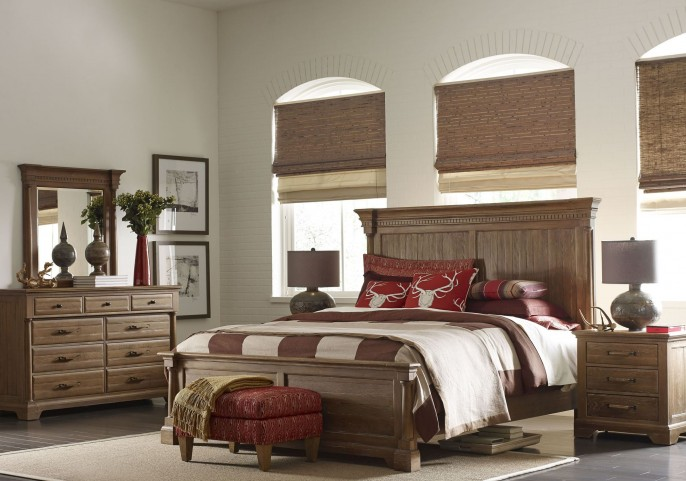 Stone Ridge Panel Bedroom Set