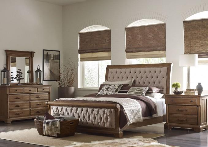 Stone Ridge Sleigh Bedroom Set