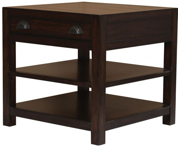 Rosanna Vintage Cocoa End Table by Donny Osmond