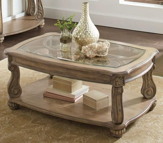 Trivellato Antique Linen End Table