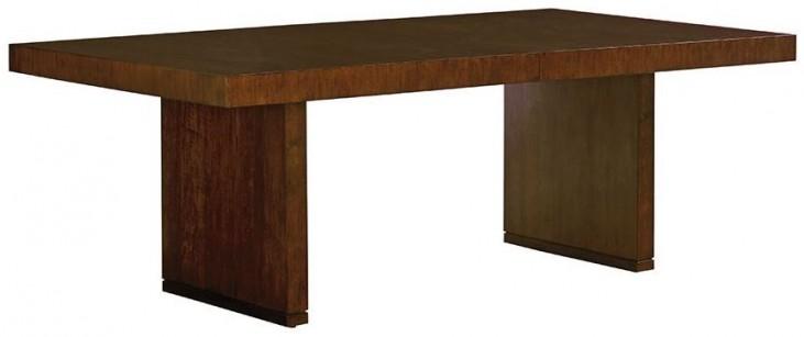 Laurel Canyon San Lorenzo Warm Mocha Extendable Rectangular Dining Table