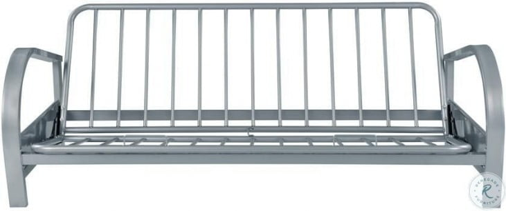 7251 Silver Futon Sofa Frame