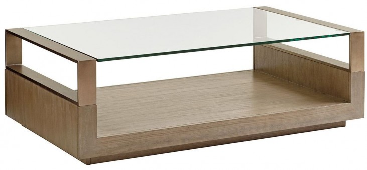 Shadow Play Center Stage Rectangular Cocktail Table