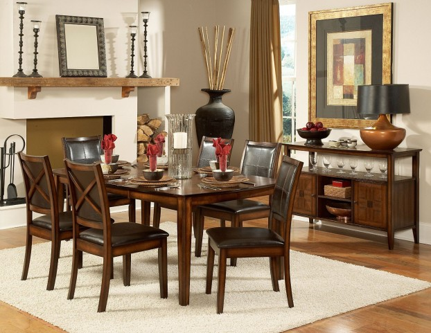 Verona Extendable Dining Room Set
