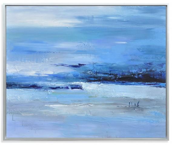 Calmness of Blue Wall Art