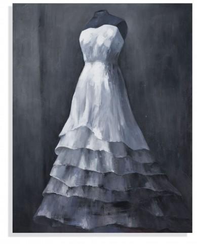 Wedding Gown Wall Art