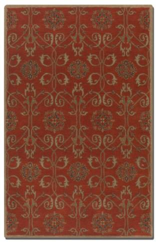 Favara 5 X 8 Rug - Red