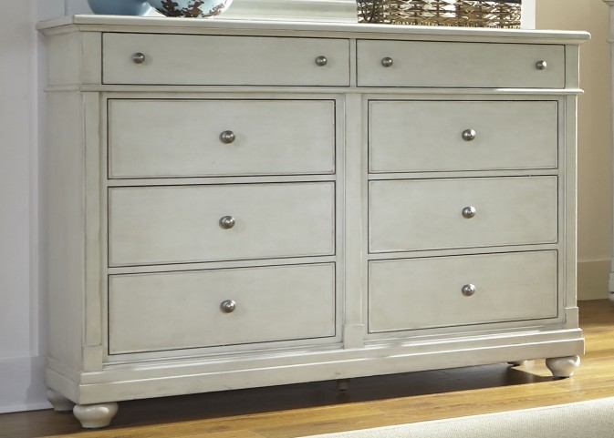 Harbor View III 8 Drawer Bureau