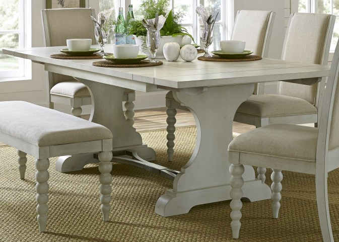 Harbor View III Extendable Trestle Dining Table