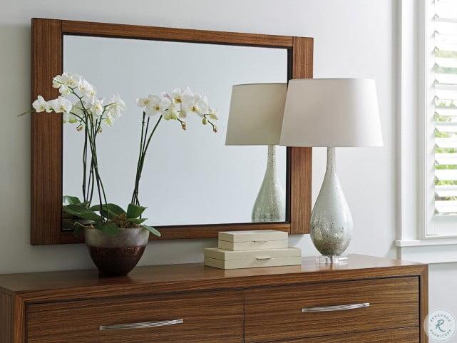 Kitano Rich Brown Hazelnut Daphne Mirror
