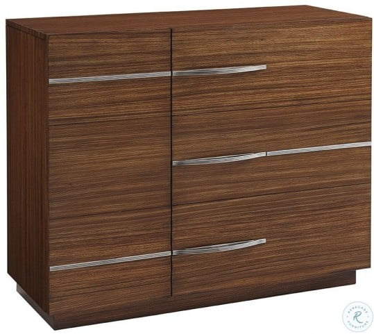 Kitano Rich Brown Hazelnut Scofield Accent Chest