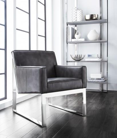 Sheldon Armchair In Grey Nobility