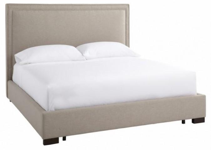 Mulberry Grey Queen Bed