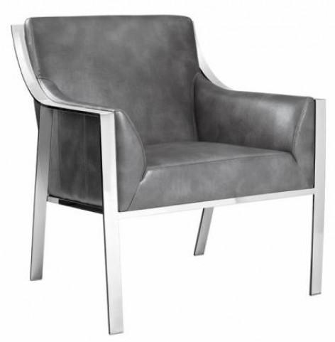 Hyde Armchair In Grey Nobility