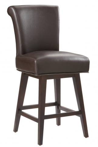 Hamlet Brown Swivel Counter Stool