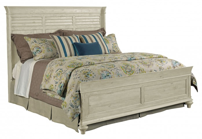 Weatherford Cornsilk King Shelter Bed