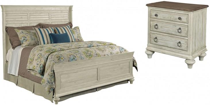 Weatherford Cornsilk Shelter Bedroom Set