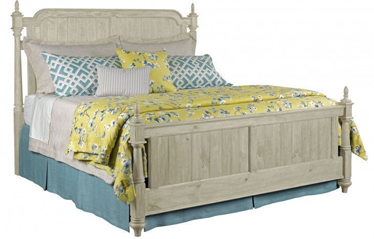 Weatherford Cornsilk King Westland Bed