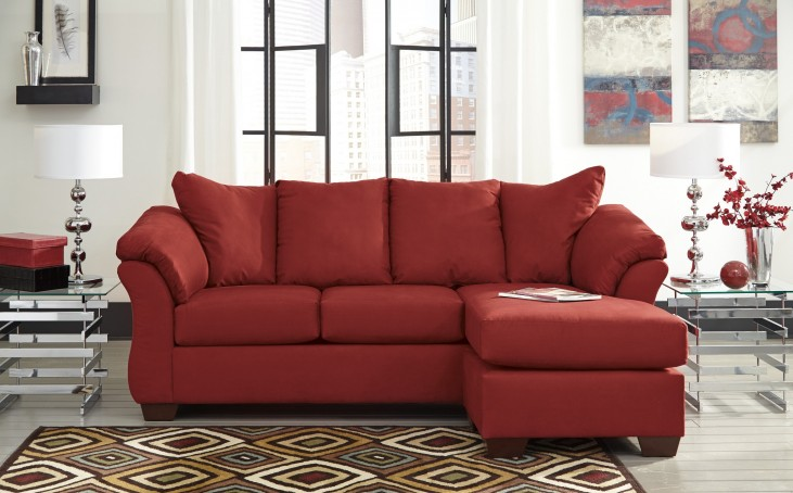 Darcy Salsa Chaise Sectional