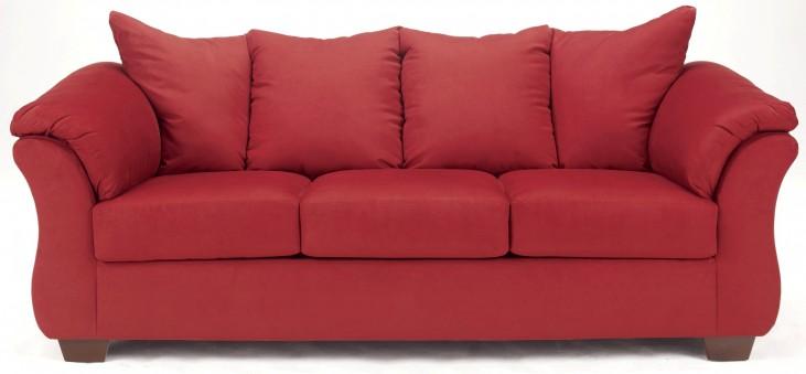 Darcy Salsa Full Sleeper Sofa