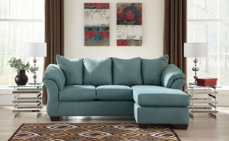 Darcy Sky Chaise Sectional