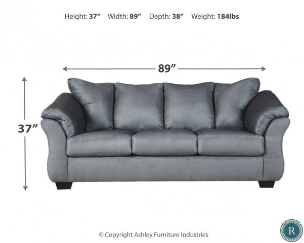 Darcy Black Full Sofa Sleeper