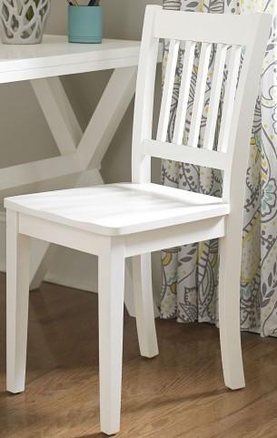 Lake House White Chair