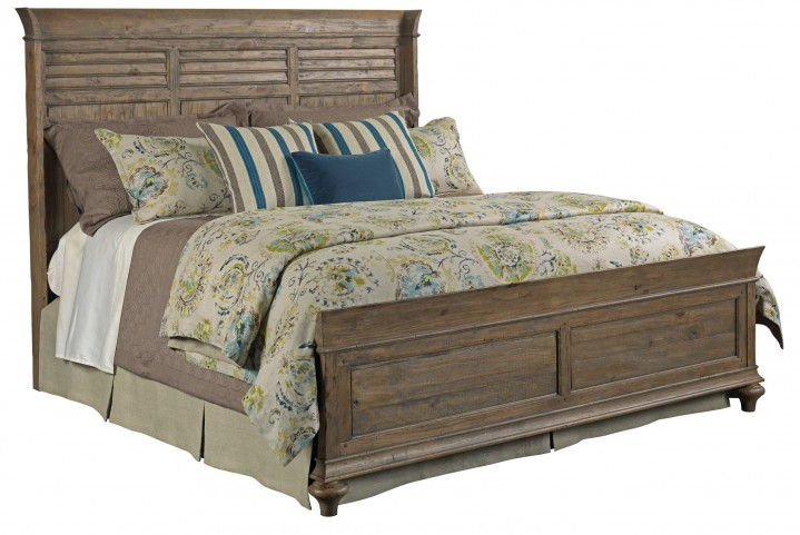 Weatherford Heather Queen Shelter Bed