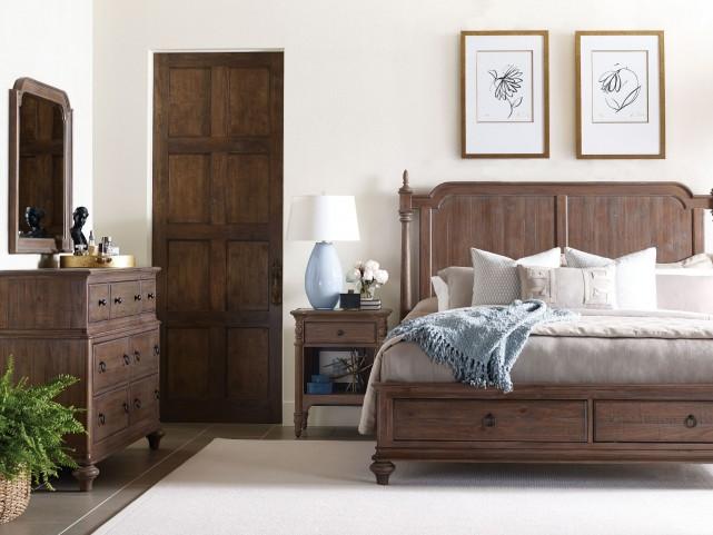 Weatherford heather westland storage bedroom set from - Kincaid bedroom furniture for sale ...