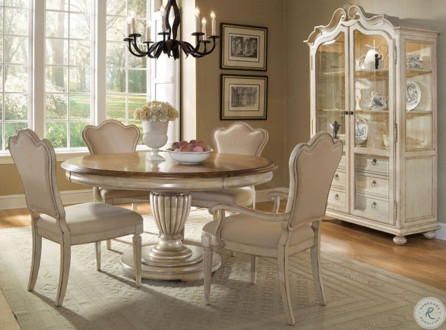LOOKS GREAT WITH. Image Of Item Provenance Round Extendable Dining Room Set