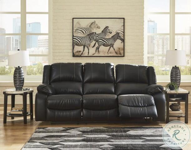 Calderwell Black Power Reclining Living Room Set