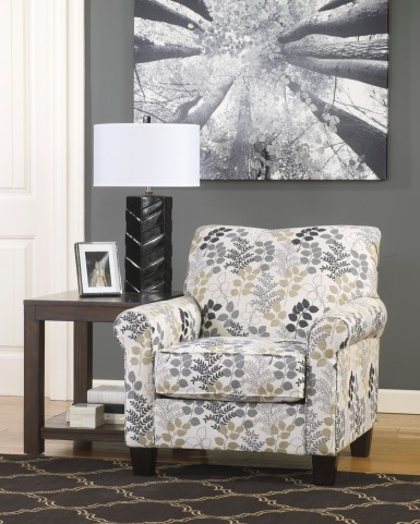 Makonnen Charcoal Accent Chair