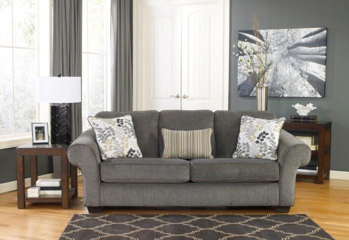 Makonnen Charcoal Stationary Sofa