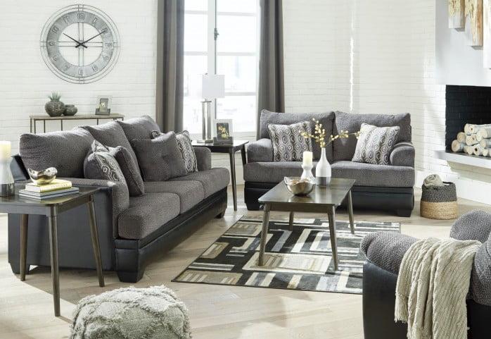 adda3b83c08e Millingar Gray Living Room Set from Ashley | Coleman Furniture