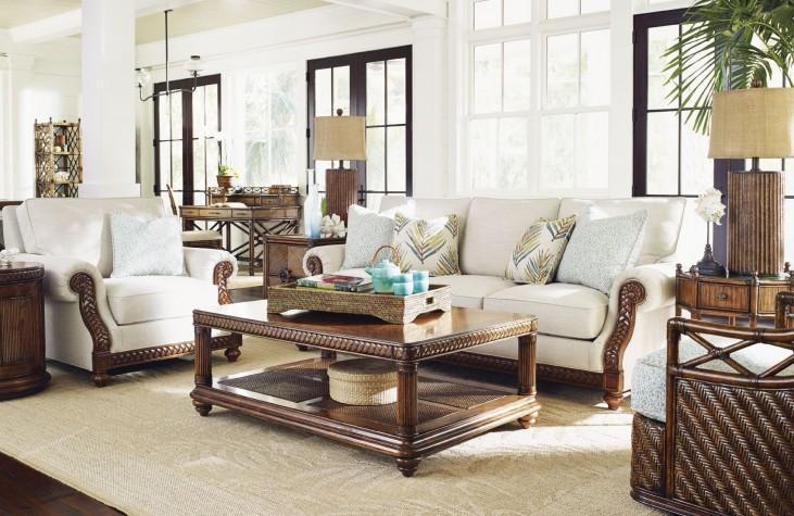 Bali Hai Shoreline Upholstered Living Room Set