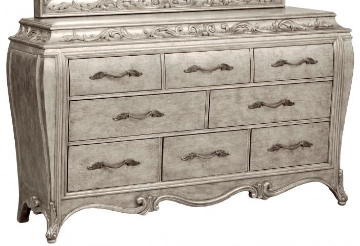 Rhianna Silver Patina Dresser