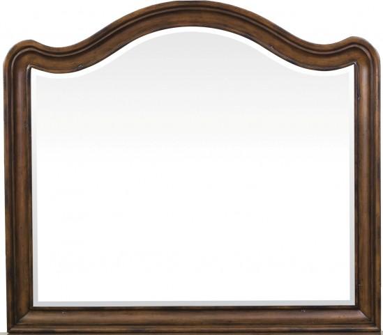 Quentin Aged Chestnut Mirror