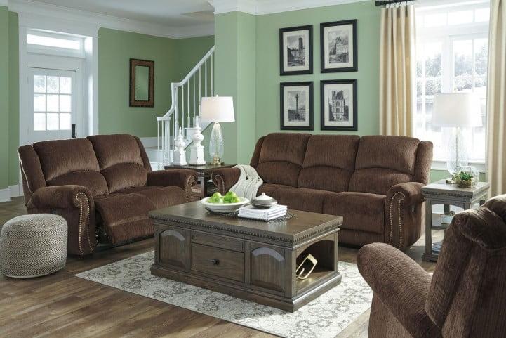 Fine Goodlow Chocolate Power Reclining Sofa With Adjustable Headrest Short Links Chair Design For Home Short Linksinfo