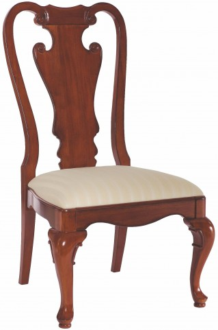 Cherry Grove Classic Antique Cherry Splat Back Side Chair Set of 2