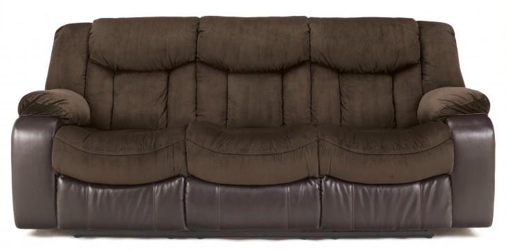 Tafton Java Reclining Sofa
