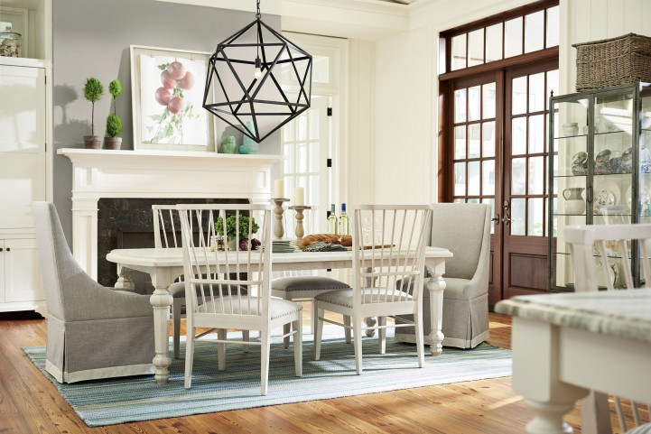 bungalow dining room   Bungalow Bluff Extendable Dining Room Set from Paula Deen ...
