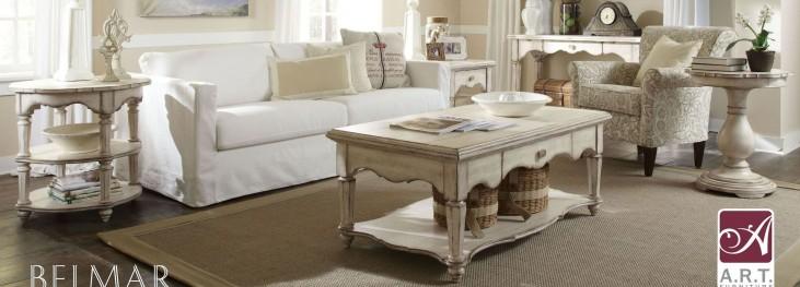 Belmar Antique Linen Occasional Table Set